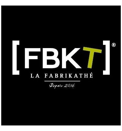Etiquette Logo FBKT pour boites 20gr