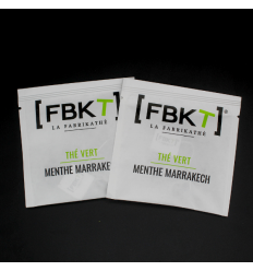 Recharge de 50 pyr. suremballées - Thé vert Menthe Marrakech BIO*