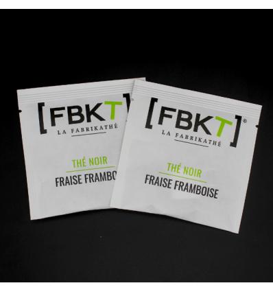 Recharge de 50 pyr. suremballées - Thé noir Fraise Framboise
