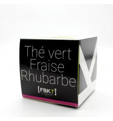 Bistrot - Thé vert Fraise Rhubarbe